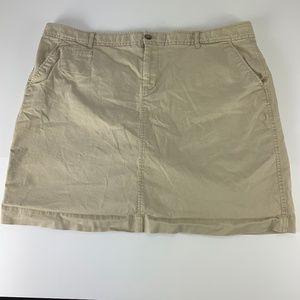 Old Navy Sz 20 Perfect Pencil Skirt Khakis Stretch